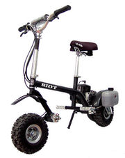 For sale new Go-Ped 46cc riot off road scooter