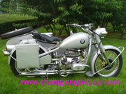 classic CJ750 sidecar for sale-WWWII based BMW R71 and R75 replica